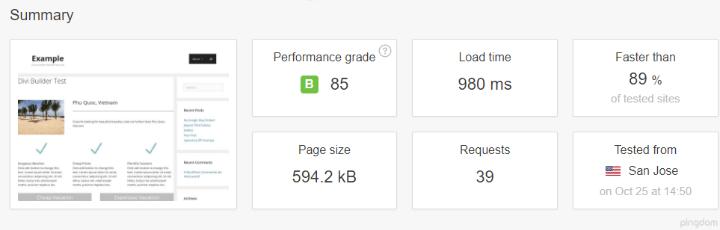 بررسی سرعت وبسایت با پلاگین WP Super Cache