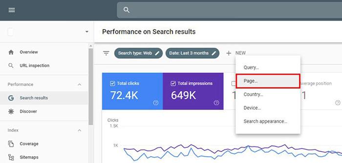 میانگین رتبه یا موقعیت شما در گوگل